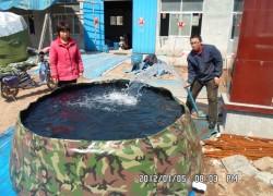 PVC全软体移动消防蓄水池