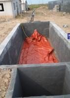 农村家用新型软体沼气池