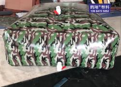 迷彩消防水袋 软体可折叠水囊