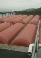 红泥软体化粪池 养殖场沼气工程