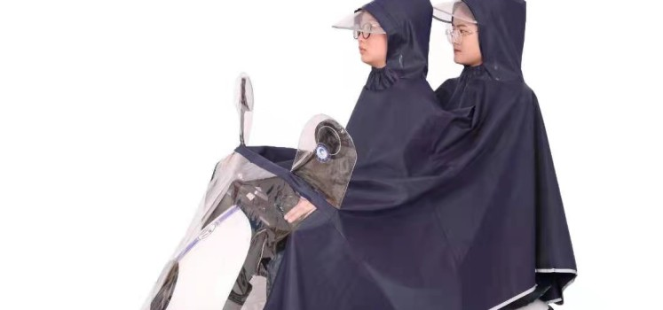 电动车雨衣 双人雨衣