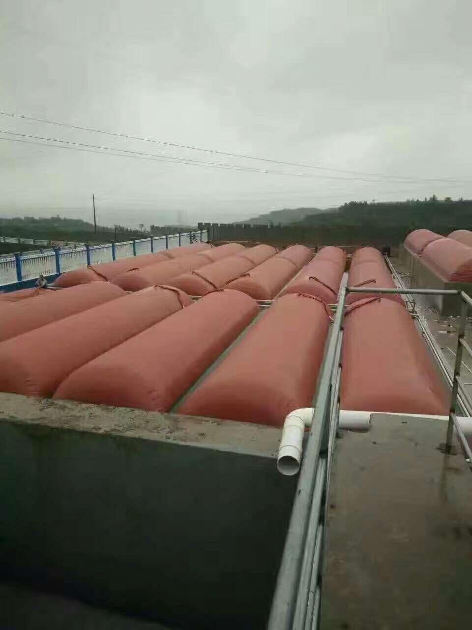 江西客户定制超大型2000立方红泥沼气池